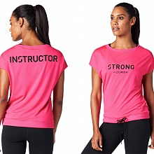 Футболка женская Strong by Zumba Instructor Drawstring Top