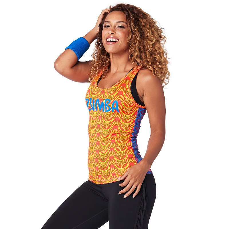 Майка женская Zumba Tribe Cross Back Tank